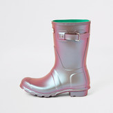 River Island Hunter Original green wellington boot