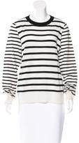 A.L.C. Merino Wool & Cashmere-Blend Striped Top