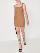 Thumbnail for your product : Hunza G Tank square-neck mini dress