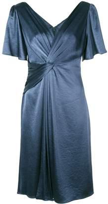 Elie Tahari Silvana twist-detail dress