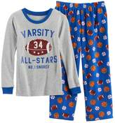 Carter's Boys 4-8 Varsity All Star 2-Piece Pajama Set