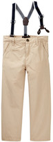 Joe Fresh Suspender Pant (Toddler & Little Boys)