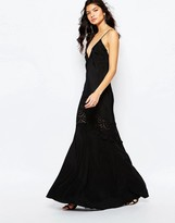 The Jetset Diaries Amore Maxi Dress in Black