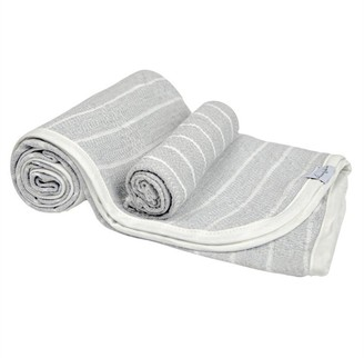 House Of Jude Hooded Turkish Towel and Wash Cloth Bundle Stone