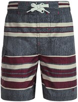 Lucky Brand Striped Swim Trunks (For Little Boys)