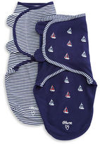 Little Me 2-Pack Swaddling Clothes