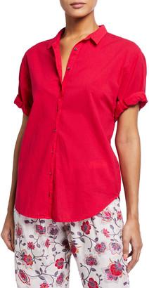 XiRENA Channing Solid Poplin PJ Shirt