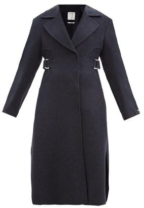 Sportmax Terry Coat - Dark Blue