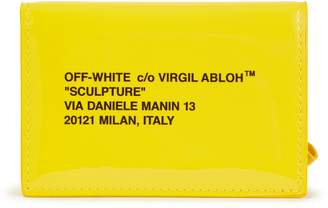Off-White Off White Leather card holder