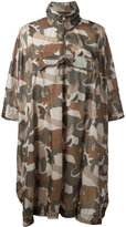Woolrich camouflage coat