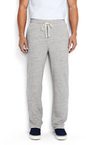 Classic Men's French Terry Trousers-Flecked Gray Heather