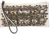 Marni Embellished Wristlet Clutch