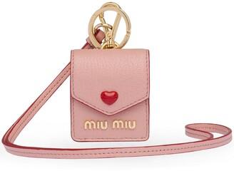 Miu Miu Madras Love earphone case