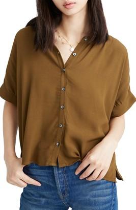 Madewell Getaway Oversize Button-Down Shirt