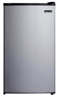 Magic Chef 3.5 Cubic Feet Refrigerator with Full-Width Freezer Compartment with Door