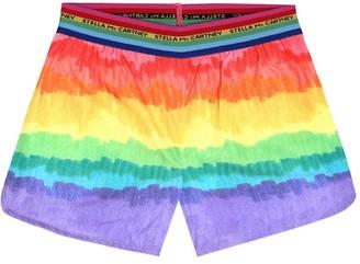 Stella McCartney Kids Rainbow shorts