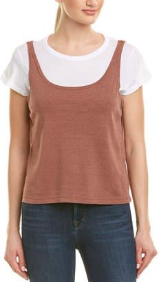 Monrow Rib Tank T-Shirt
