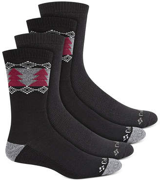 Columbia Men 4-Pk. Moisture-Control Boot Socks