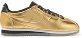 Nike Classic Cortez Metallic Leather Sneakers - Gold
