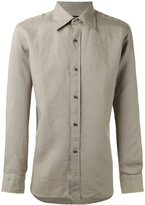Tom Ford buttoned shirt - men - Linen/Flax - 39