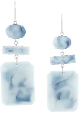 Isabel Marant Marbled Drop Earrings