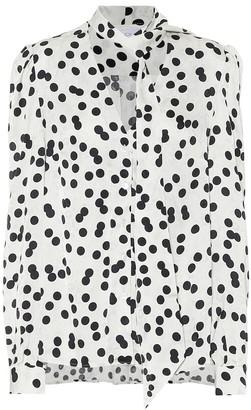 Racil Solange floral-jacquard blouse