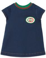 Gucci Baby denim dress with Interlocking G