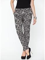 So Fabulous Lace Peg Trousers