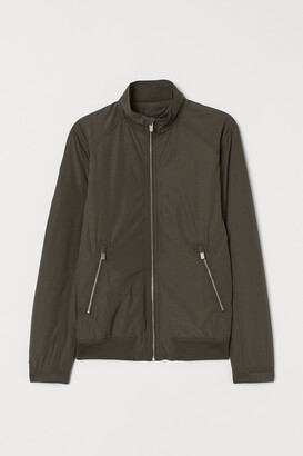 H&M Jacket with Stand-up Collar