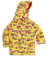 Hatley Little Boy's & Boy's Fire Trucks Polyurethane Raincoat