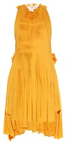 Sonia Rykiel Racer-back pleated dress