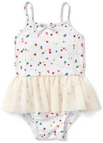 Gap Confetti dots tutu swim one-piece