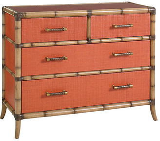 Tommy Bahama Coral Dresser - Red
