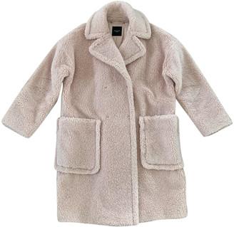 Max Mara Weekend Pink Wool Coats