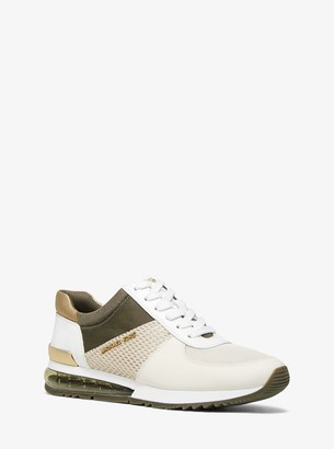 MICHAEL Michael Kors Allie Extreme Mixed-Media Trainer