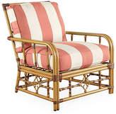 Lane Venture Mimi Striped Lounge Chair - Coral
