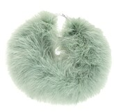 Thumbnail for your product : Dries Van Noten Green Feather Necklace