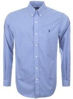Ralph Lauren Gingham Shirt Blue