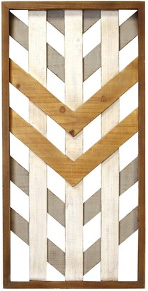 Stratton Home Multi Framed Geometric Wood Wall Panel