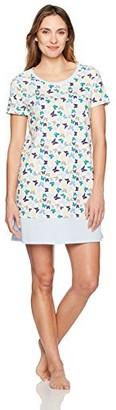 Jockey Women's Cotton Jersey Printed Sleepshirt