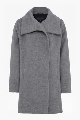 French Connection Bennie Wide Collar Coat