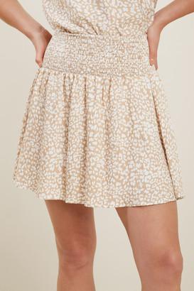 Seed Heritage Ocelot Flutter Skirt