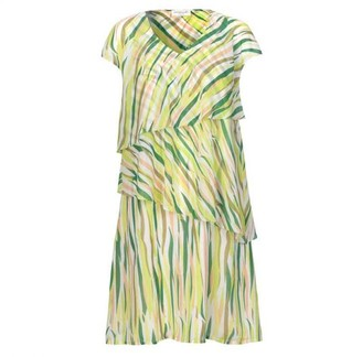 Rosemunde 6309 Pattern Chiffon Dress 6309 Pattern Chiffon Dress - 10