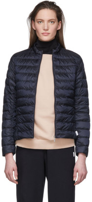 MAX MARA LEISURE Navy Down Soprano Jacket