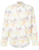 Marni Illustration Print Shirt - White - Size IT48