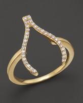 Bloomingdale's Khai Khai Diamond Wishbone Ring in 18K Yellow Gold, .2 ct. t.w.