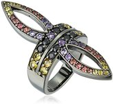 MCL by Matthew Campbell Laurenza Viking Stephanie Imperial Crown Ring, Size 7