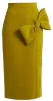 Roksanda Maida bow-detail midi skirt