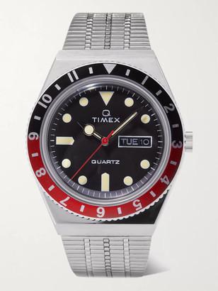 Timex Q Reissue 38mm Stainless Steel Watch - Men - Silver