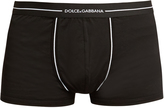 Dolce & Gabbana Cotton-jersey boxer trunks